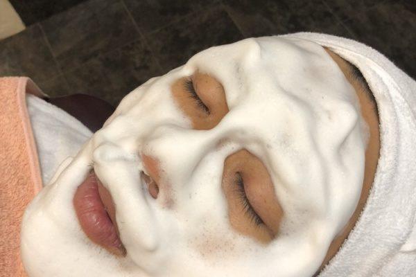 話題のメンズスキンケア★バルクオム 洗顔体験しました!